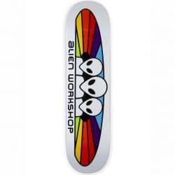 Planche de skateboard Alien Workshop Spectrum White deck 7.75″