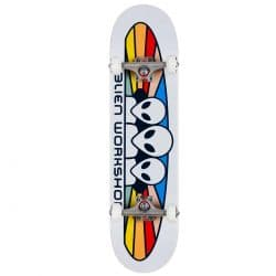 Skateboard complet Alien Workshop Spectrum White 8.0″