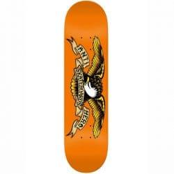 Planche de Skateboard Antihero Classic Eagle Orange deck 9.0″