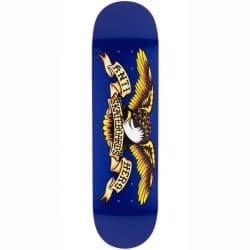 Planche de Skateboard Antihero Classic Eagle Xl Navy deck 8.5″