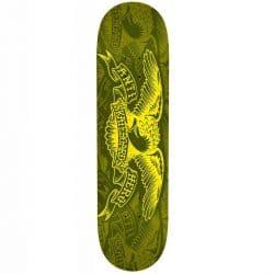 Plateau de Skateboard Antihero Eagle Olive deck 7.75″