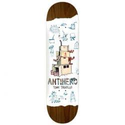 Planche de Skateboard Recycling Trujillo White deck 8.25″