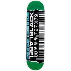 Planche de Skate Black Label Barcode Ripped deck 8.8″