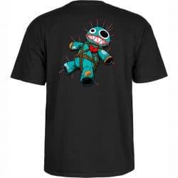 T-shirt Bones Voodoo Noir