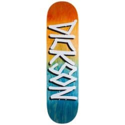 Planche de skateboard Deathwish Dickson Orange/Navy Gang Name deck 8.25″