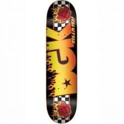 Planche de skate DGK Skateboards Rollin Heat Black deck 8.06″