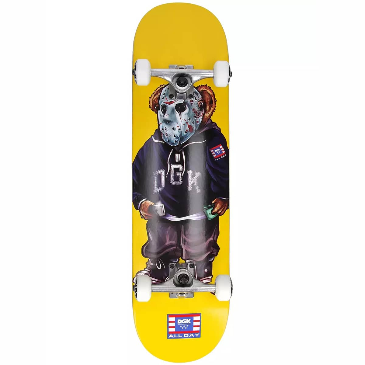 Skateboard complet DGK The Plug Yellow 8.25″
