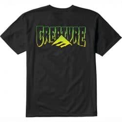 T-shirt Emerica Tri Creature Noir