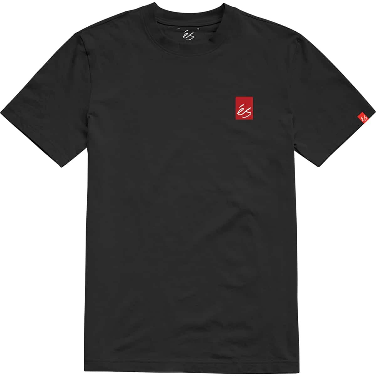 T-shirt éS Team Fade Black (noir)