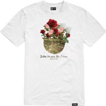 T-shirt Etnies Bouquet White (blanc)
