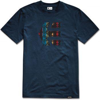 T-shirt Etnies Icon bleu marine (Dark Navy)