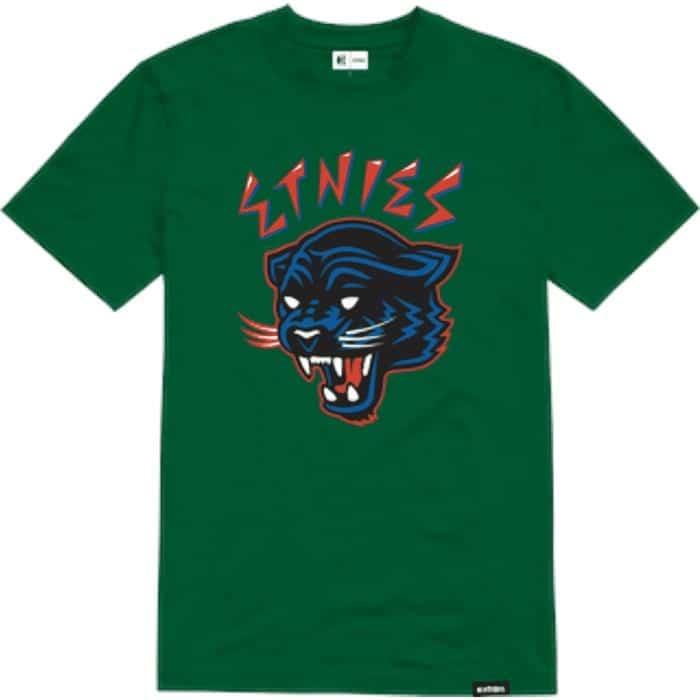 T-shirt Etnies Panther Kelly Green (vert)