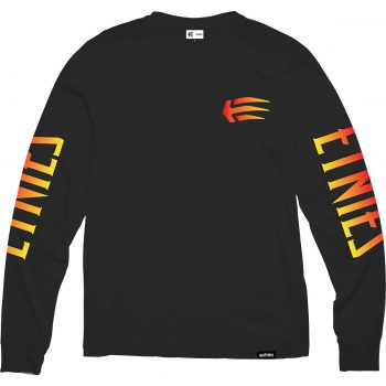 T-shirt à manches longues Etnies Wolverine LS Black