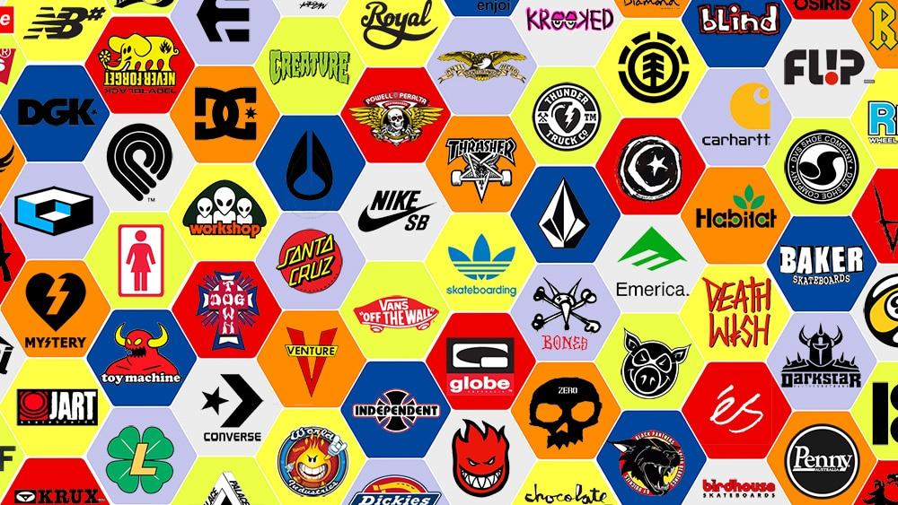 logos marques de skate