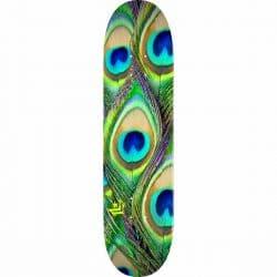 Planche de Skateboard Mini Logo Peacock Feather 18 deck 8.5″