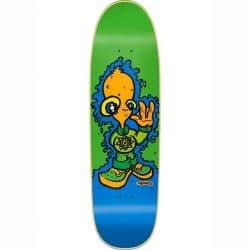 """Planche de skateboard New Deal Montesi Alien Screenprint Green Old School 8.875"""""""