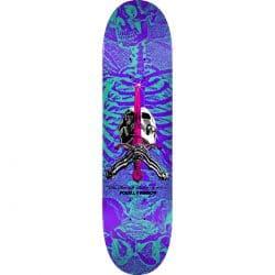 Planche de skateboard Powell Peralta Ps Skull Sword Turq Purple deck 8.25″