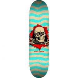 Planche de skateboard Powell Peralta Ripper Natural Turquoise deck8.0″
