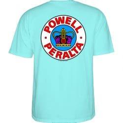 T-shirt Powell Peralta Supreme Bleu Celedon