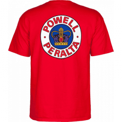 T-shirt Powell Peralta Supreme Red