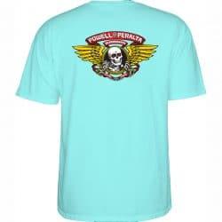 T-shirt Powell Peralta Winged Ripper Celedon