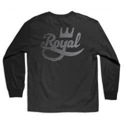 T-shirt manches longues Royal Trucks Bruiser LS noir homme back
