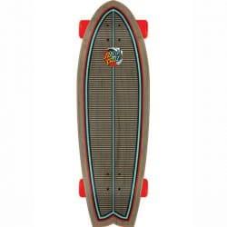 """Skateboard Cruiser Santa Cruz Classic Wave Splice 8.8"""" shape"""