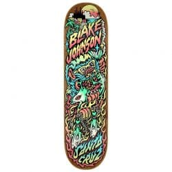 Planche de skate Santa Cruz Johnson Beach Wolf Two Powerply deck 8.375″