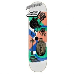Planche de skate Santa Cruz Knibbs Seeker Powerply deck 8.27″