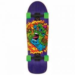 Skateboard cruiser complet Santa Cruz Toxic Hand Shaped