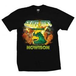 T-shirt Shake Junt Super Junt Black (noir)