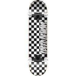 Skateboard Complet Speed Demons Checkers Black White 8.0″