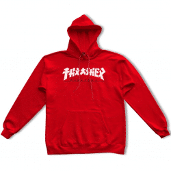 Sweat à capuche Thrasher Godzilla Rouge (red)