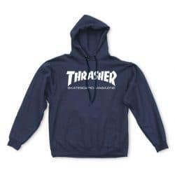 Sweat à capuche Thrasher Skate Mag Hood Bleu Marine (Navy)