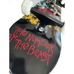Skateboard complet Zero Iron Maiden Number Of The Beast 8.0″ truck