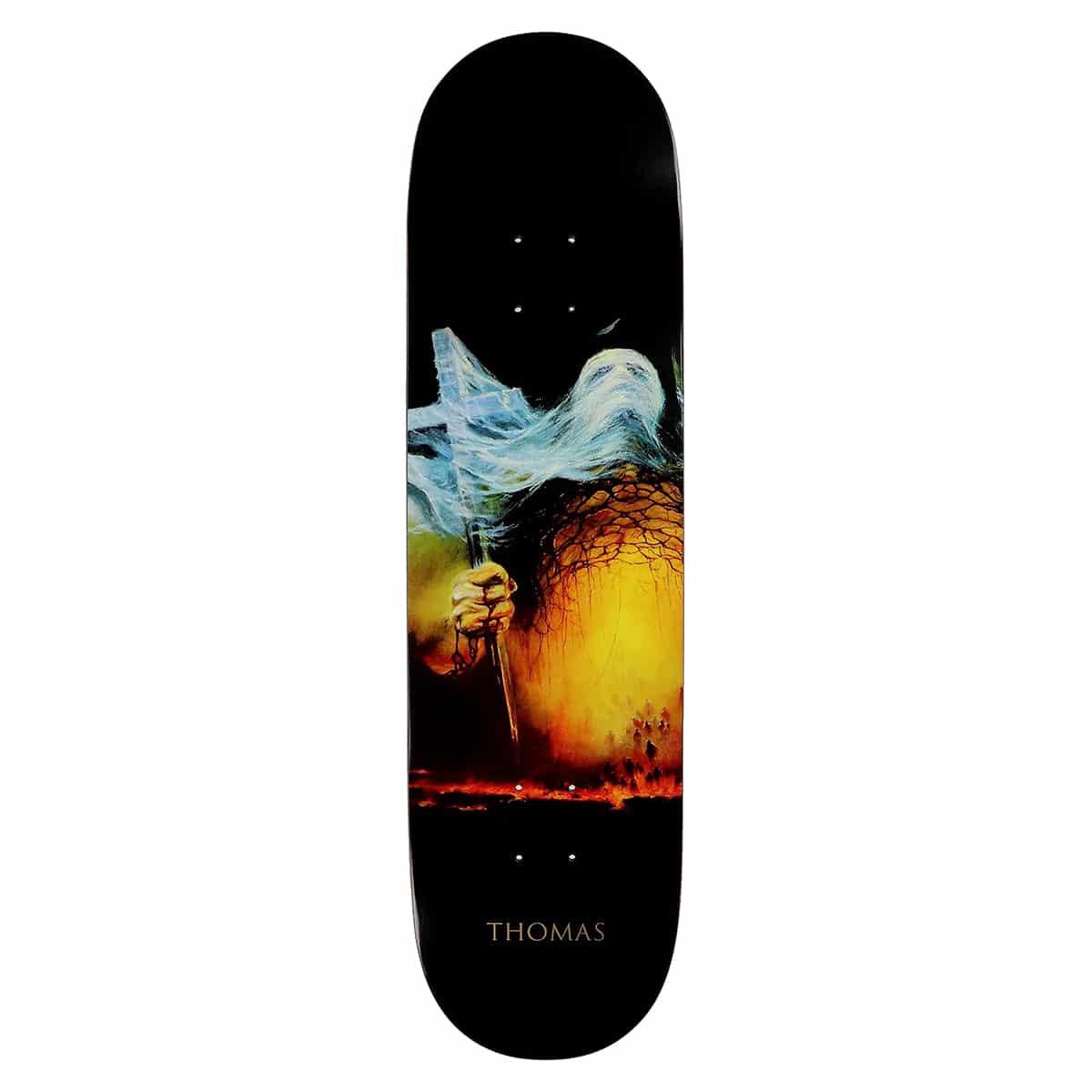 Planche de skateboard Zero Thomas Katharsis II deck 8.5″