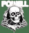 logo Powell Peralta blanc