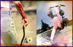 Nicole Hause for Real Skateboards