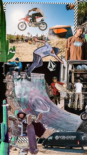 Volcom collage