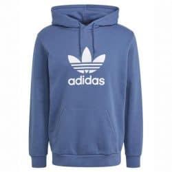 Sweat-Shirt à capuche Adidas Trefoil Hoodie Blue Team