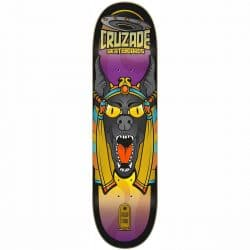 Planche de skateboard Cruzade Conspiracy Anubis deck 8.375″