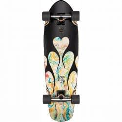 "Skateboard Cruiser complet Globe Big Blazer DK Black/Resin 32"""