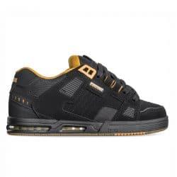 Chaussures de skateboard Globe Sabre noires (Black Toffee)